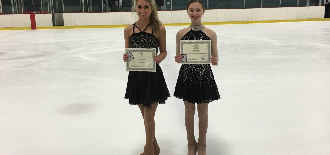 Alexandra Bernard and Lilly Carone