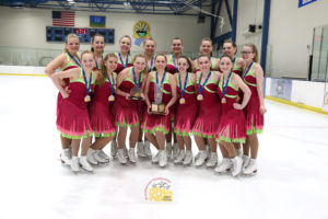 Capital Classics Intensity 2 Synchro Champs Winner 2017